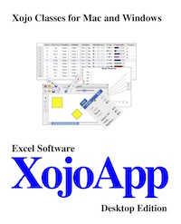 XojoApp - Reusable Components for Xojo Desktop Developers
